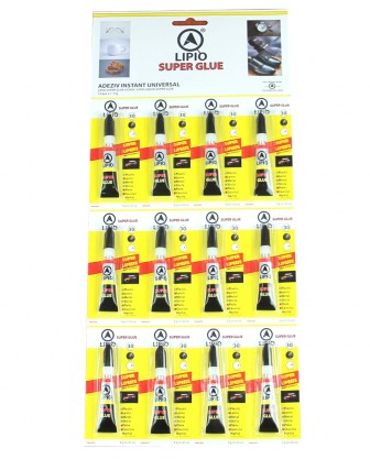 LIPIO super glue 3grame*12buc/set